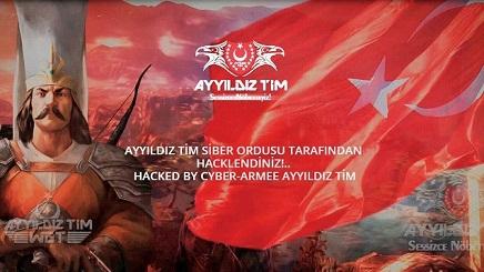 Ayyildiz Tim Serang Organisasi Hacker Anonymous