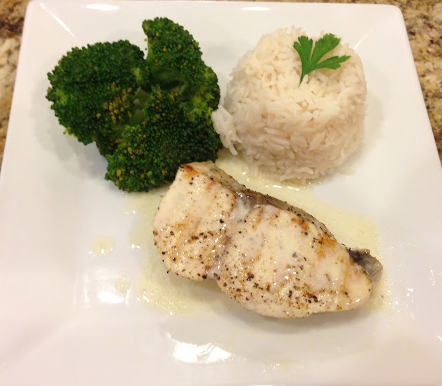 Taste of hawaii grilled ono for Ono fish recipe