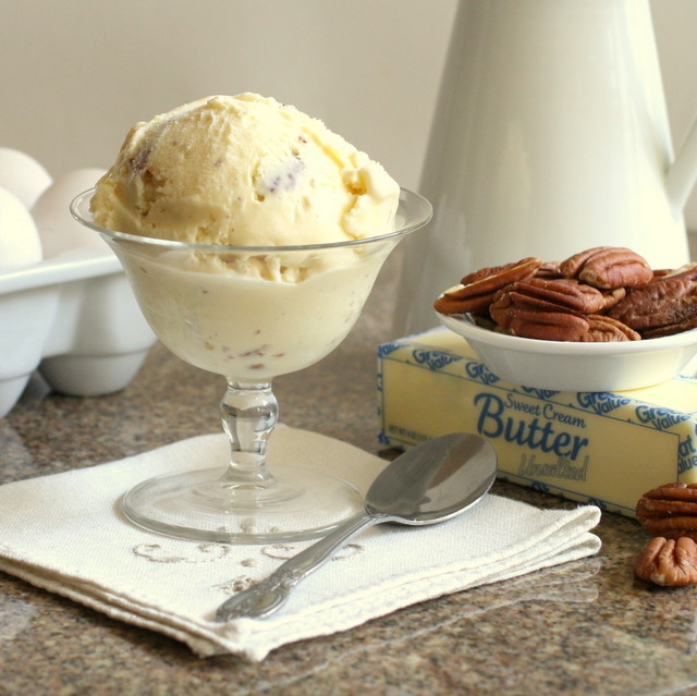 ... : Somethng Really Special For Father's Day: Butter Pecan Ice Cream
