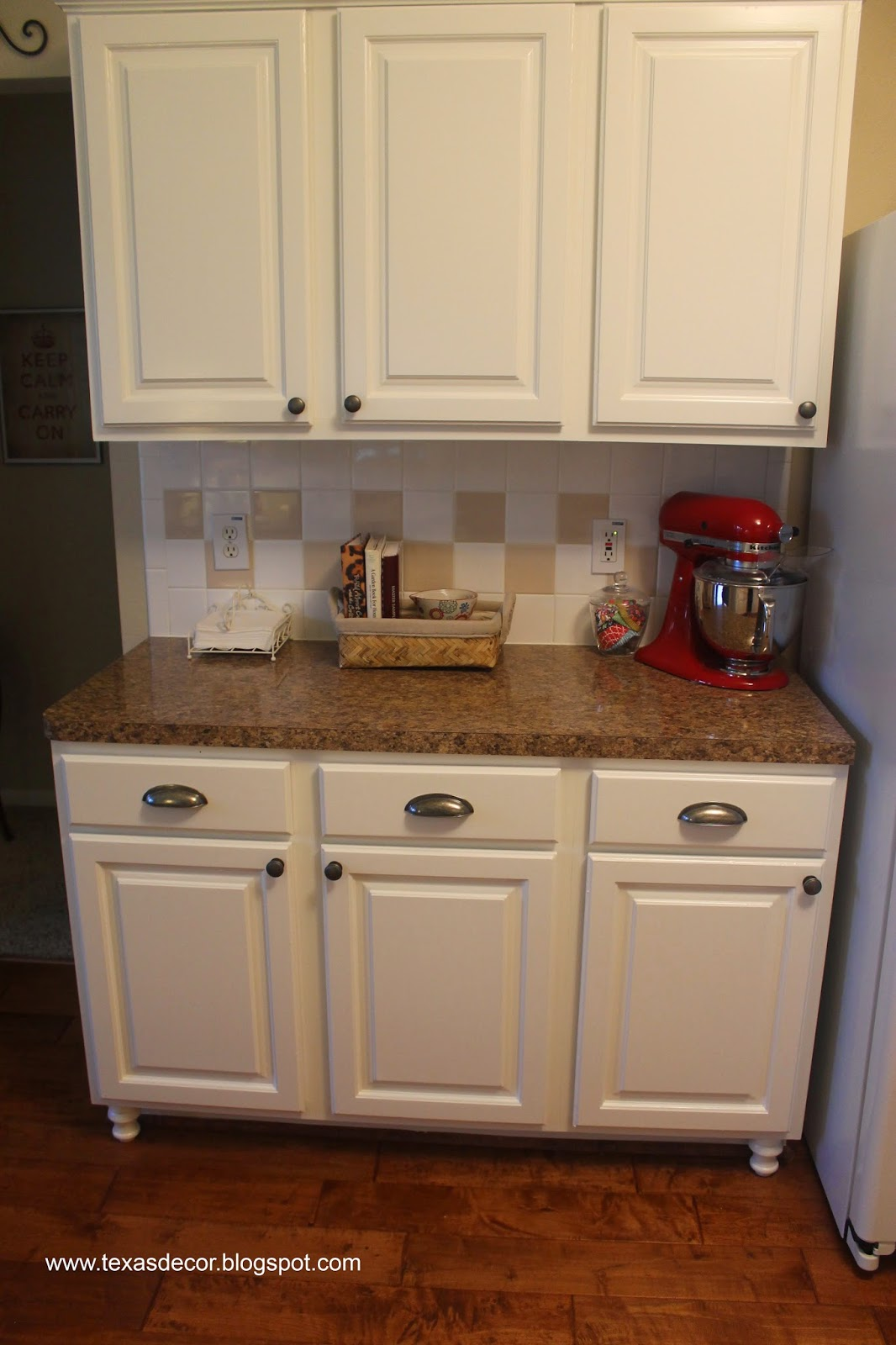 tutorial on painting kitchen cabinets