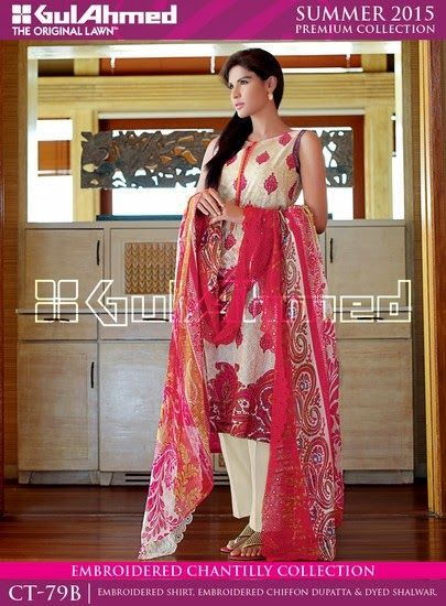 Chantilly De Chiffon Summer Collection by Gul Ahmed 6