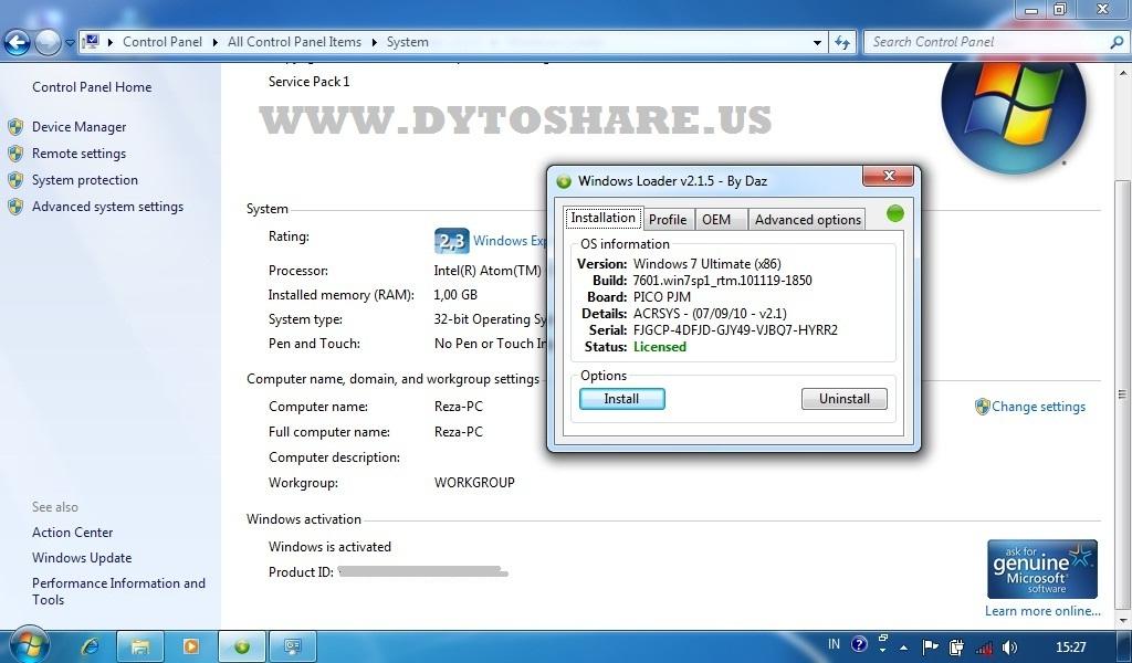 Version 2.1.5 (06/25/2012) :