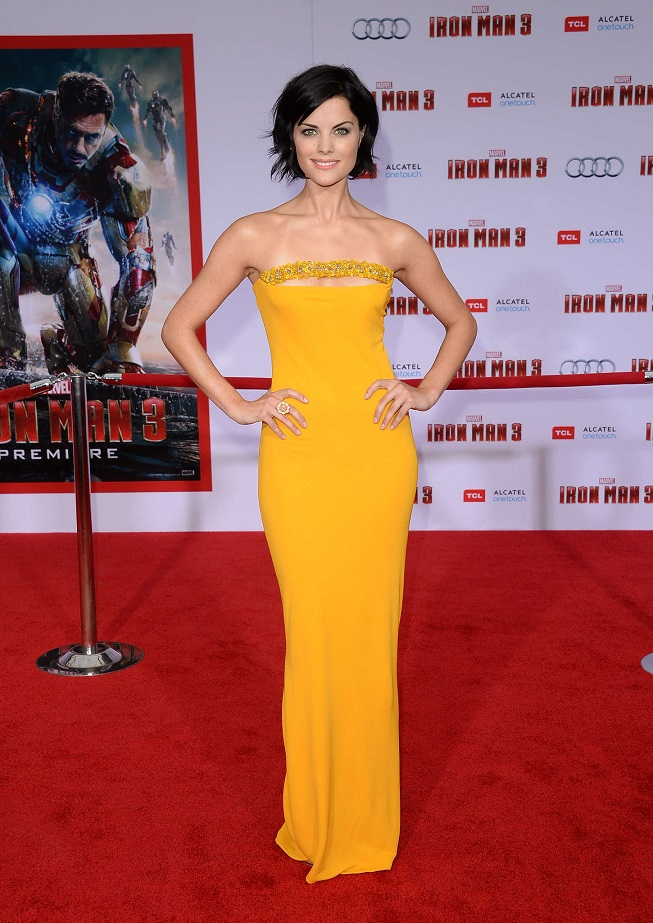 "Jaimie Alexander - ""Iron Man 3"" Premiere in Hollywood"