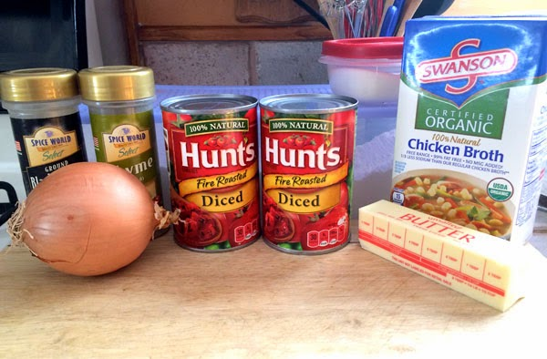 hunts tomatos organic swanson chicken broth butter seasoning