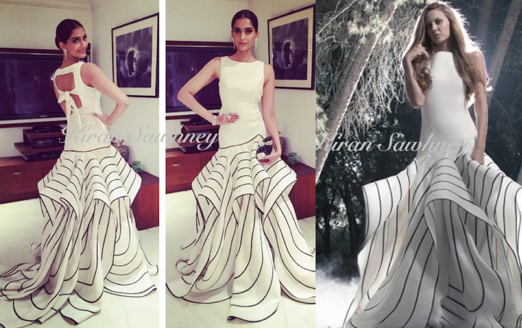 Sonam Kapoor in Isabel Sanchis at Femina beauty awards