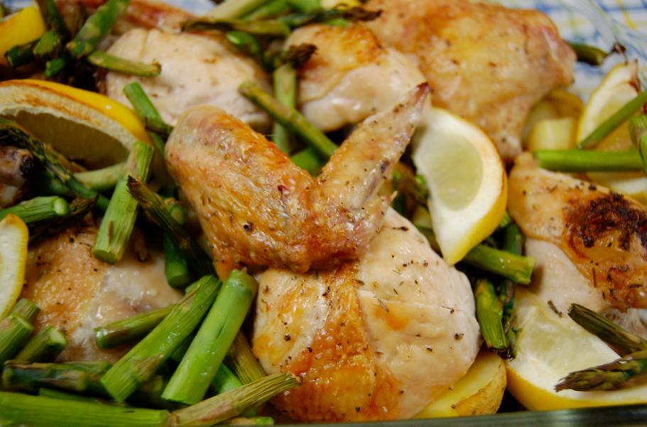 Sarah's Kitchen Adventures: Roast Chicken with Potatoes ...