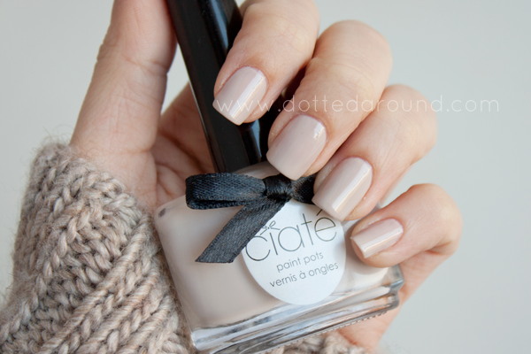 Ciaté cookies and cream swatch