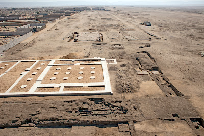 Restoration works and new discoveries at Tell el Amarna