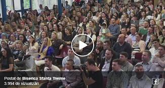 VIDEO LIVE: Botez la Biserica Sfânta Treime Londra 🔴 Mesaj biblic: Vladimir Pustan