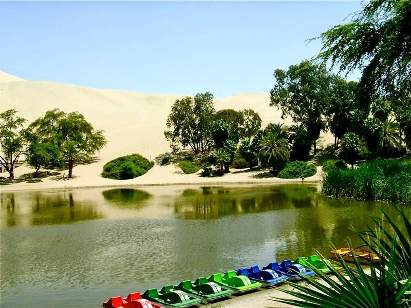 Huacachina Desert Oasis, Peru