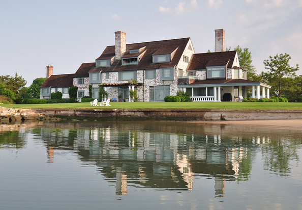 Home of the Month ~ Katharine Hepburn's Waterfront Connecticut Estate