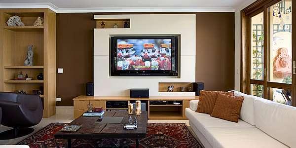 Cria o salas de tv homes theaters for Salas de television modernas