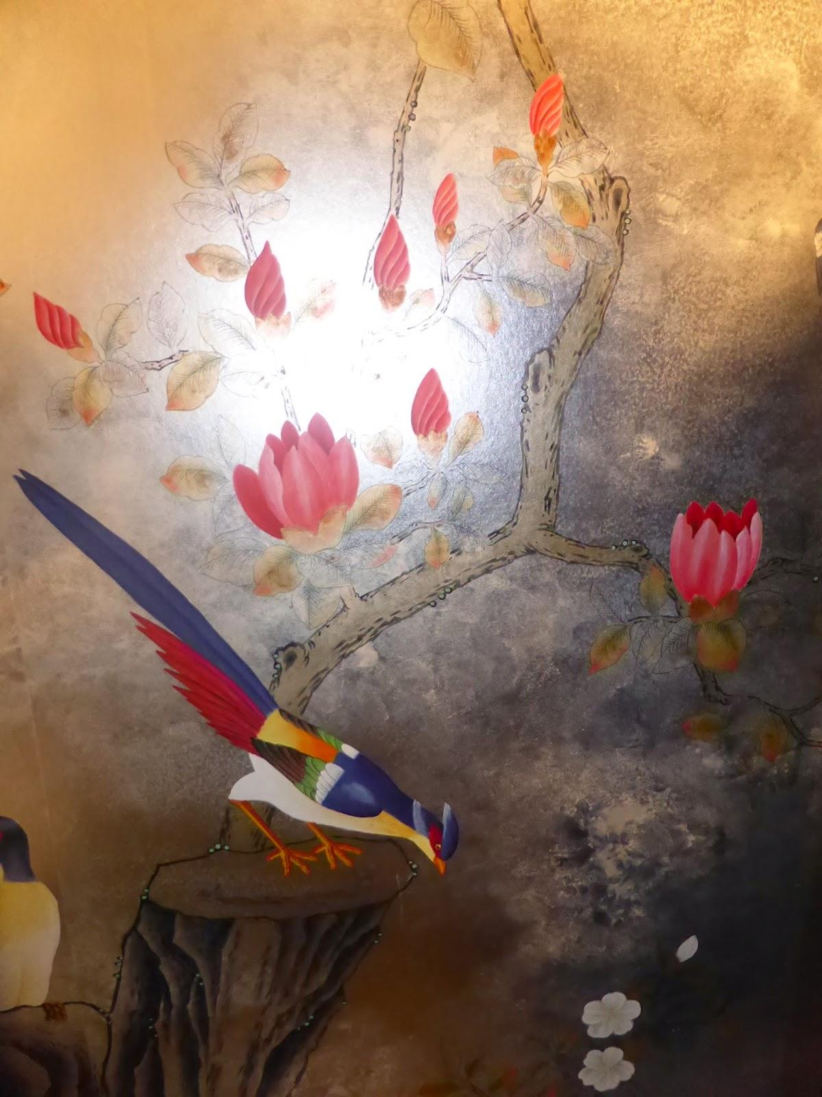 Papier peint motifs japonais - Papier peint style japonais ...
