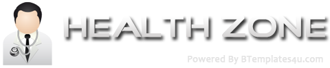 Health Zone Blogger Template