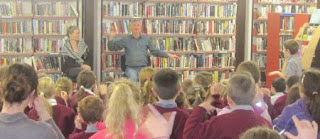 Billy Teare & Kathleen O'Sullivan at Kilrush Library