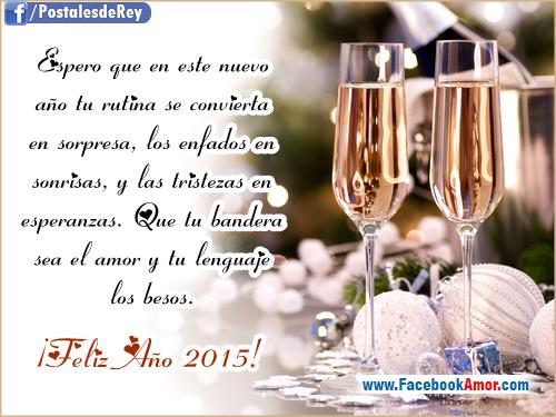 con frases de Año Nuevo Imagenes Bonitas para Facebook Amor y Amistad