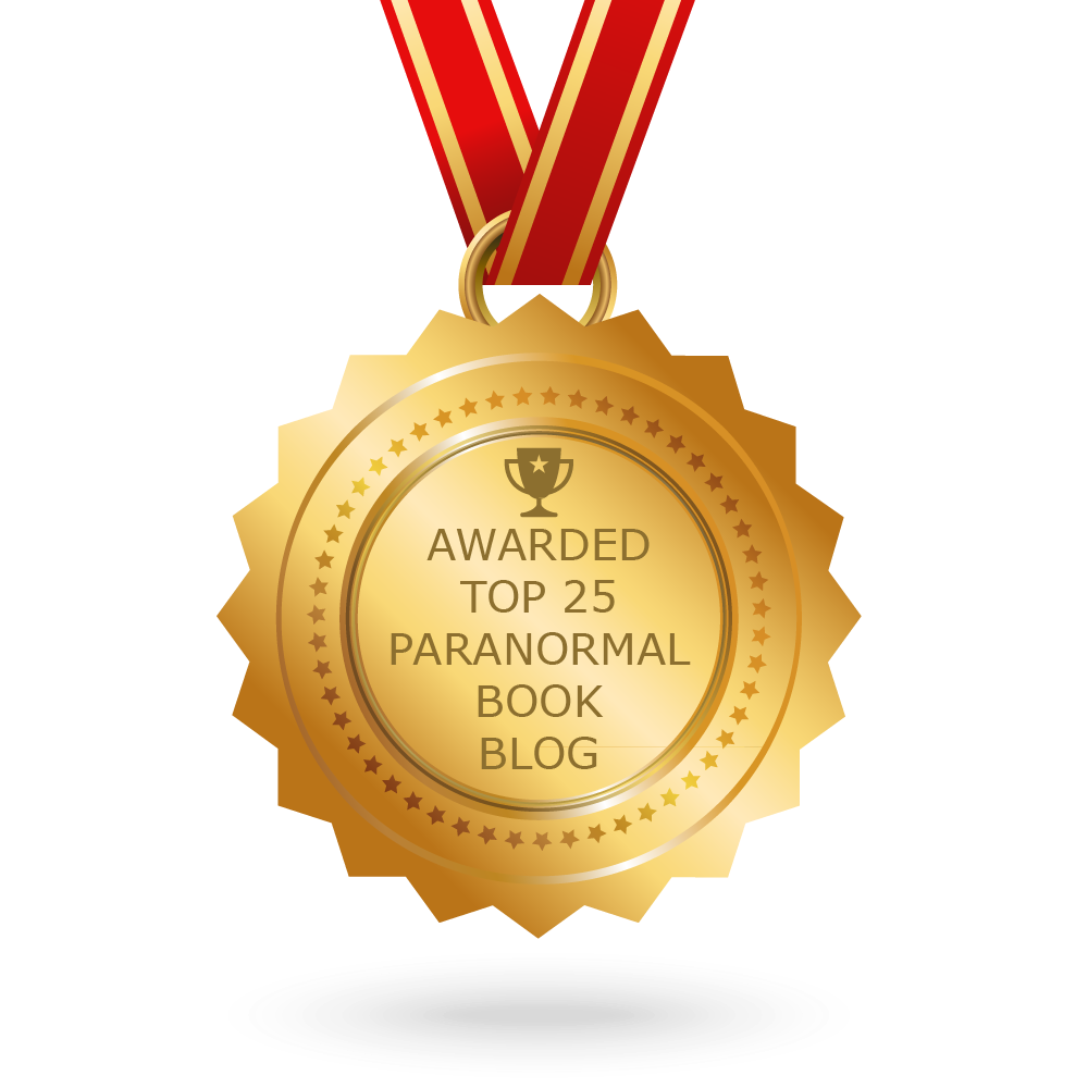 Awarded Top 25 Paranormal Book Blog