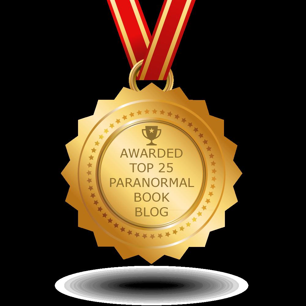 Awarded Top 25 Paranormal Book Blog