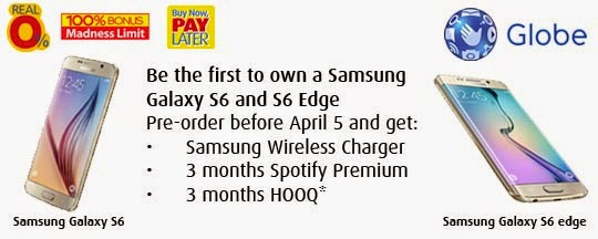 Samsung Galaxy S6, Samsung Galaxy S6 edge, Zero percent, BPI credit card