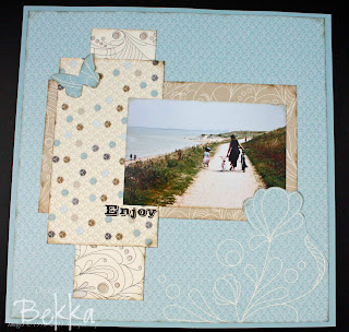 Scrapbooking what you enjoy on a Sunday