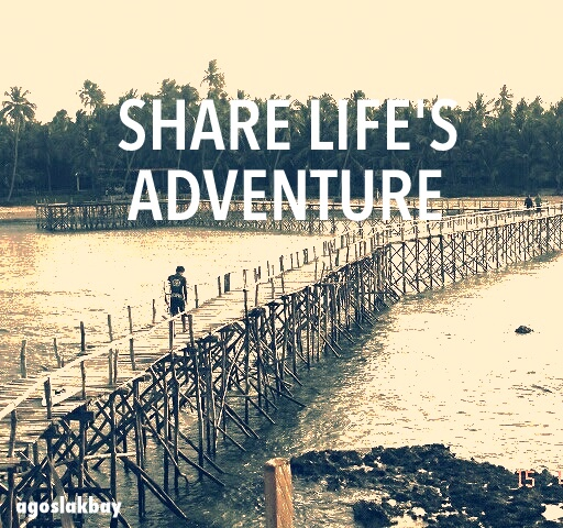 share life's adventure, siargao island, motto