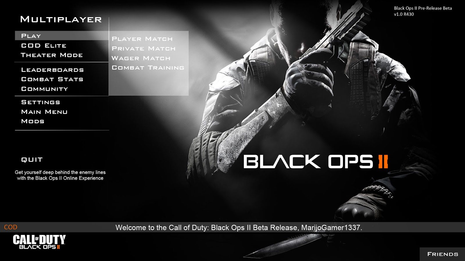 how to play call of duty black ops multiplayer skidrow