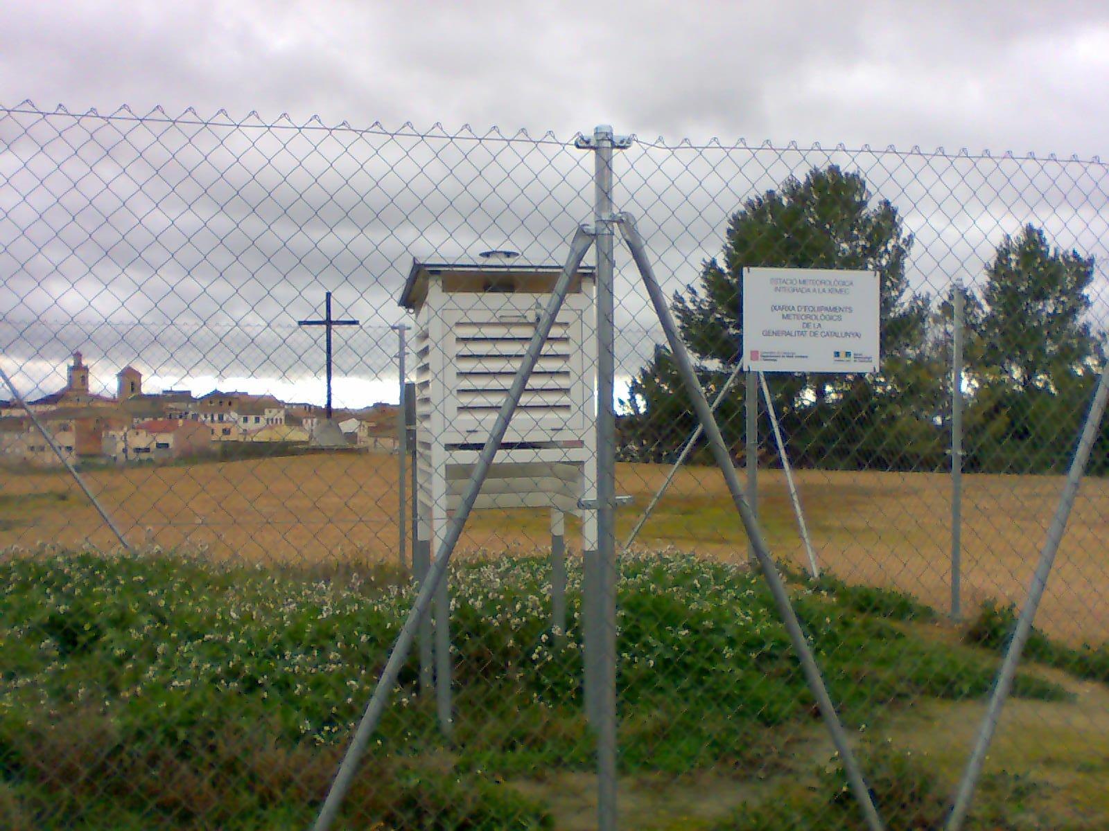 Aventuras en la palma d ebre estacion meteorologica y - Estacion meteorologica carrefour ...