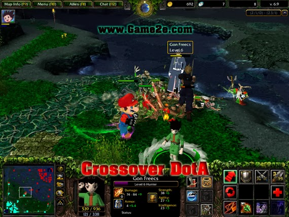 Map Crossover DotA 6.9.w3x by DarkWeaver