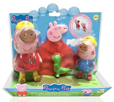 TOYS : JUGUETES - Peppa Pig  Peppa y George Manchitas Mágicas  Producto Oficial Serie TV | IMC Toys | A partir de 18 meses  Comprar en Amazon España
