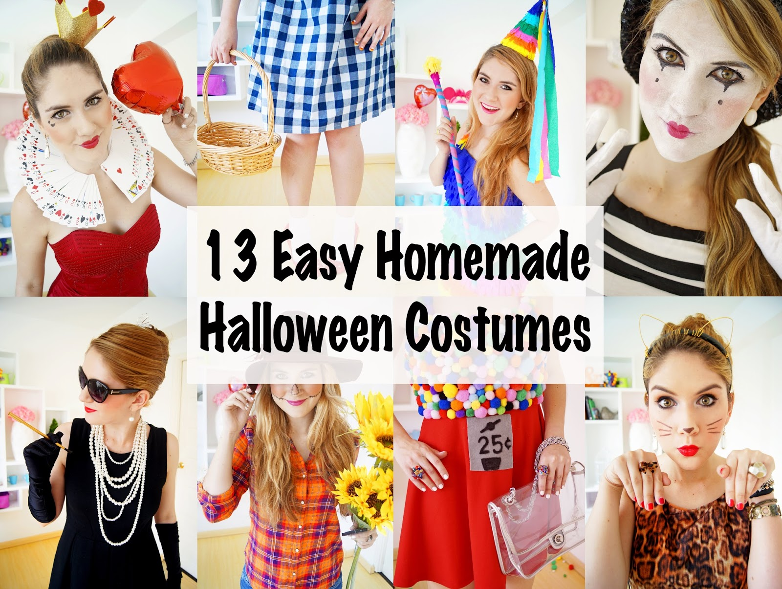 The joy of fashion october 2014 easy halloween costumes last minute halloween costumes solutioingenieria Images