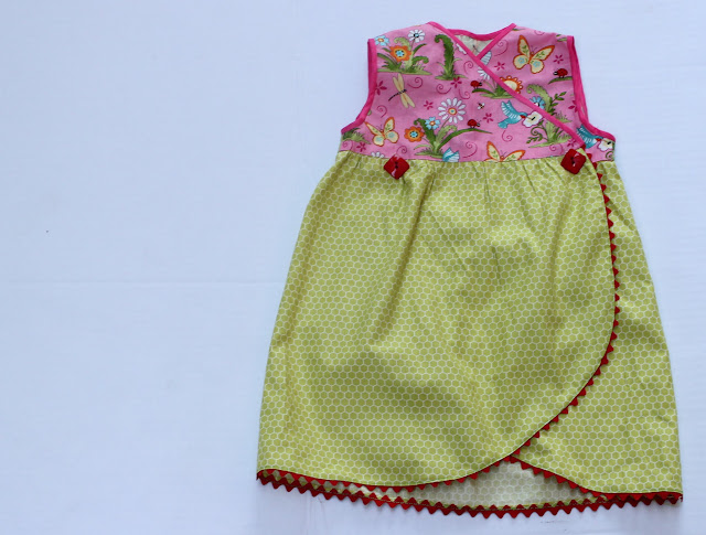 Tulip dress sewing tutorial