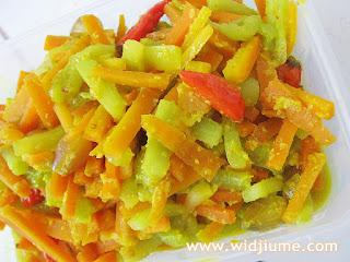 Resep Masakan dan Cara Membuat Acar Wortel