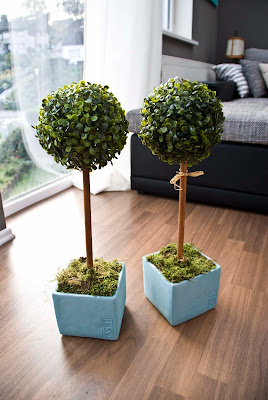 diy topiary tutorial