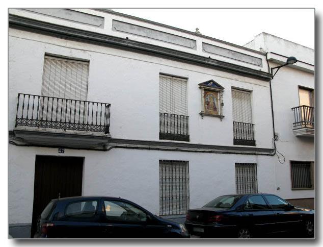 Fachada casa particular. Calle Canónigo esquina con Lamarque Novoa.