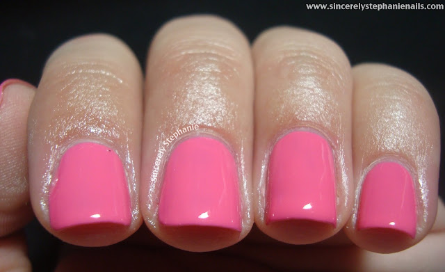 tip top nails pink lady