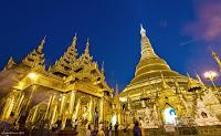 shwedagon pagoda yangon myanmar birmania