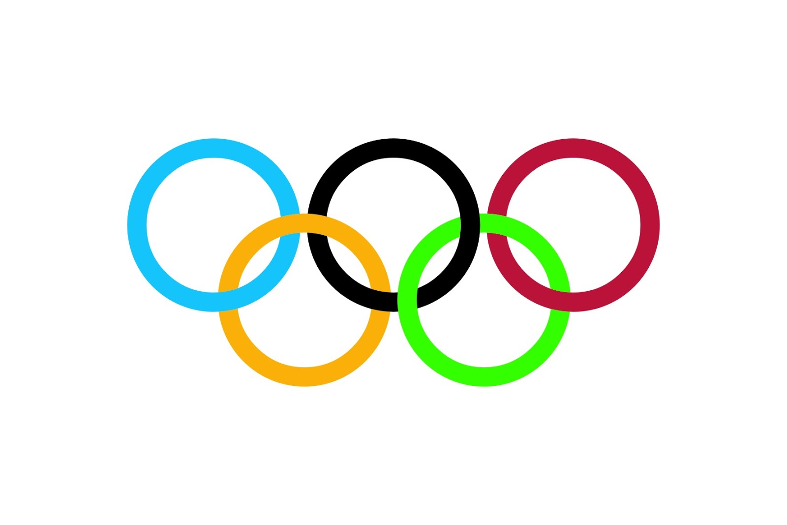 The Gallery For Gt Olympics Rings Logo Vector