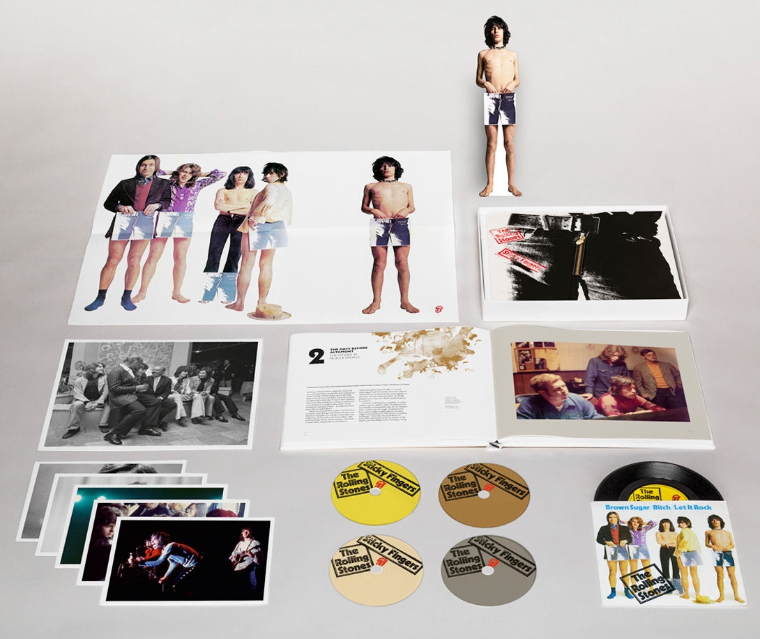 The rolling stones sticky fingers super deluxe edition 2015 let it rock live at leeds university 1971 fandeluxe Gallery