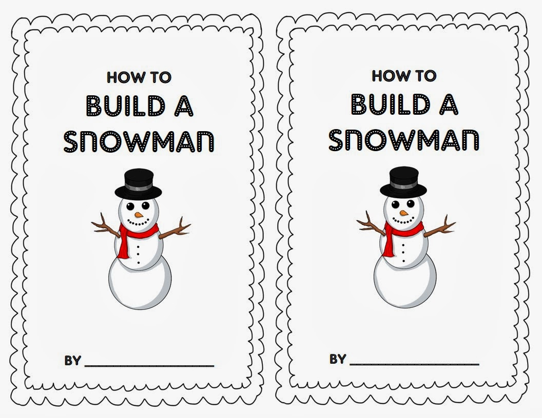 Firstie favorites how to build a snowman