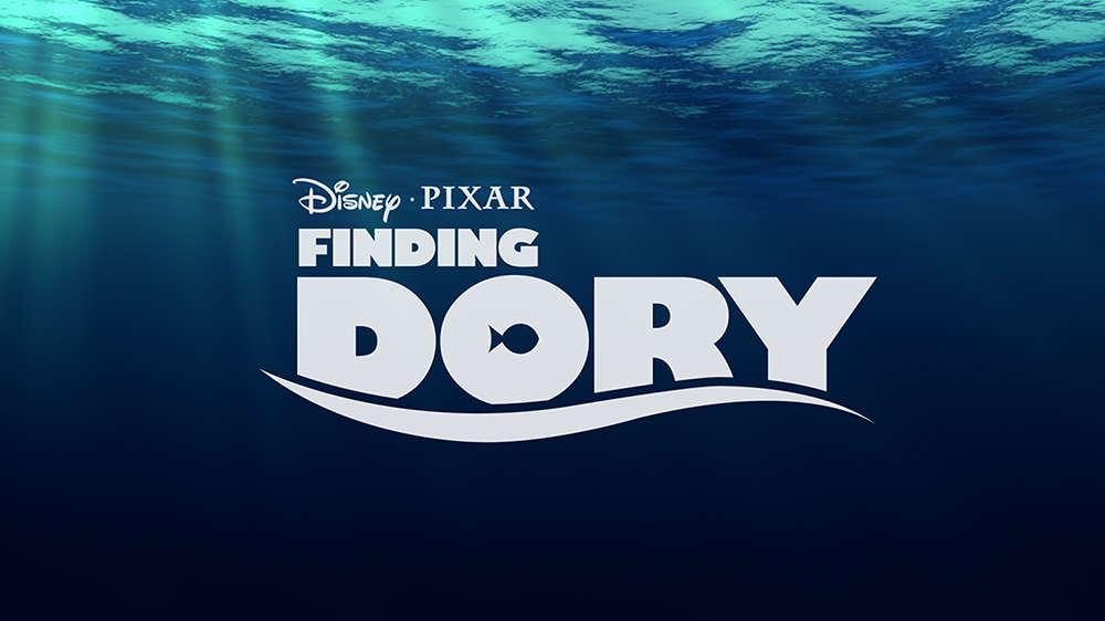 The Finding Dory logo