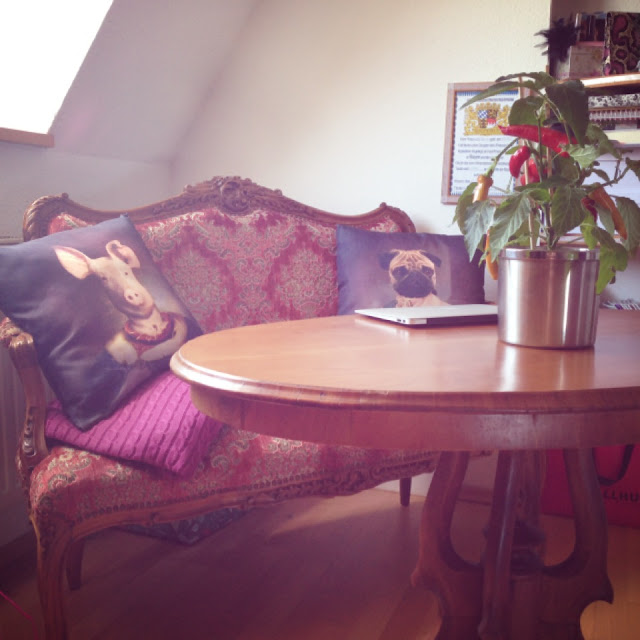 Fräulein Bergers Wohnzimmer