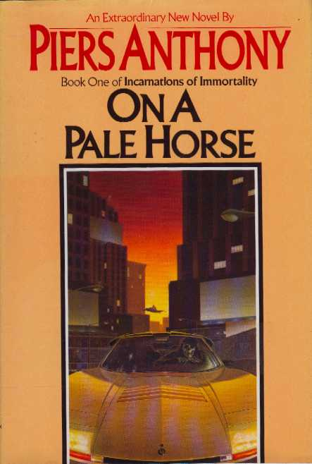 book report the pale horse by Book name: on a pale horse author: piers anthony first published: 1983 piers  anthony jacob was born in oxford, england, but his family.