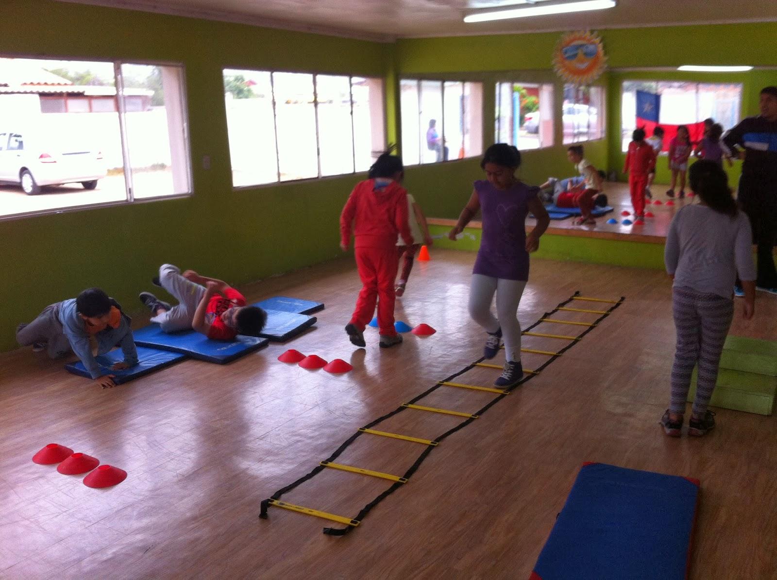 Circuito Juegos Para Niños : Gimnasio balance la serena gimnasia entretenida para
