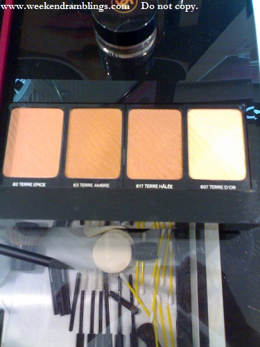 chanel makeup summer 2010 pop up de chanel swatches bronzers