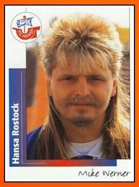 Mike+werner+ +panini+hansa+rostock+1995 96
