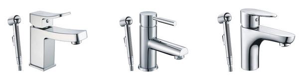 Новинка! Смесители WasserKRAFT с гигиеническим душем для раковины