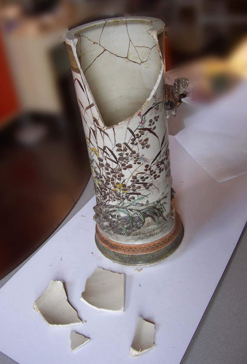 Mill Girl: Ceramic Repair