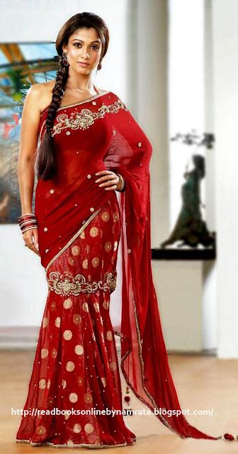 nayanthara_sarees designs 2012_1_readbooksonlinebynamrata