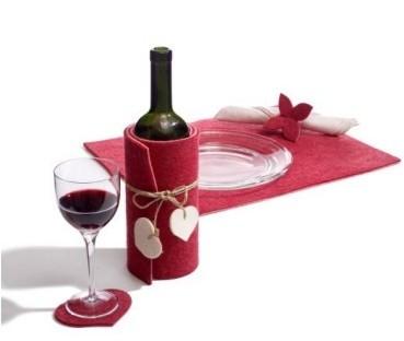 Sorelle parzialmente scremate san valentino fai da te - Tavola di san valentino ...