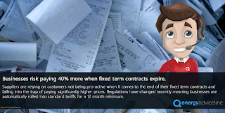 businesses risk paying 40% more when fixed term contracts expire